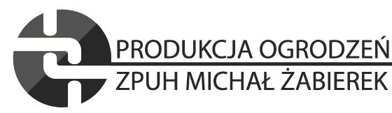 Produkcja ogrodzeń – Michał Żabierek